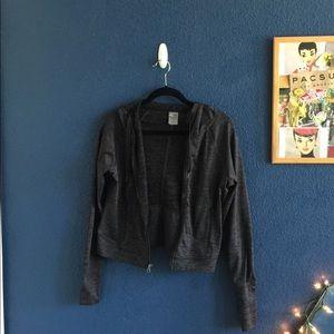 champion duo dry black zip up jacket